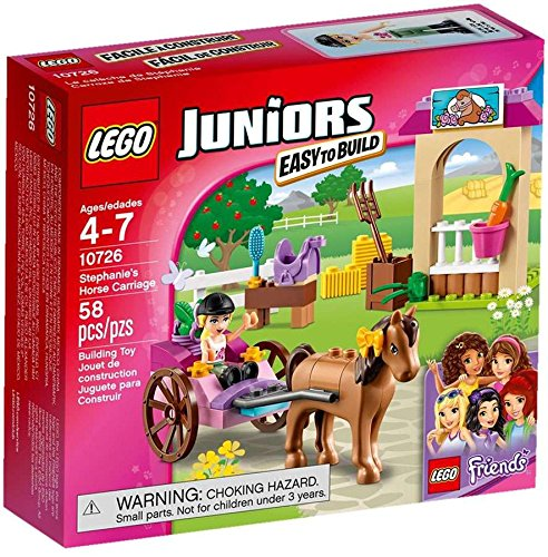 Lego Juniors Stephanie's Horse Carriage 10726, By Game To...