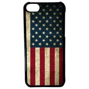 Ganma For iPod Touch 6 Case, American Flag For iPod Touch 6th Generation Black Case