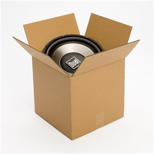 12L x 12W x 12H in., Recycled Kraft Shipping Boxes, 25 - Recycled Shipping Containers