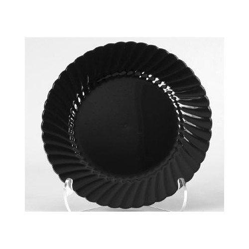 WNA Comet Classicware 10.25'' Plastic Plate in Black