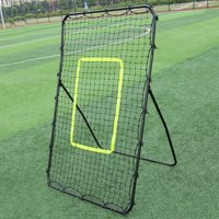0b88c9afa Product Image Professional Galvanized Steel Pipe Rebound Soccer/Baseball  Goal Black