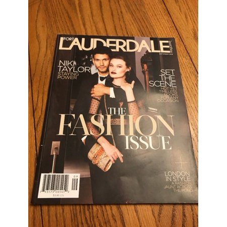 Magazine Ship (Fort Lauderdale Magazine The Fashion Issue September 2018 Ships N 24h )