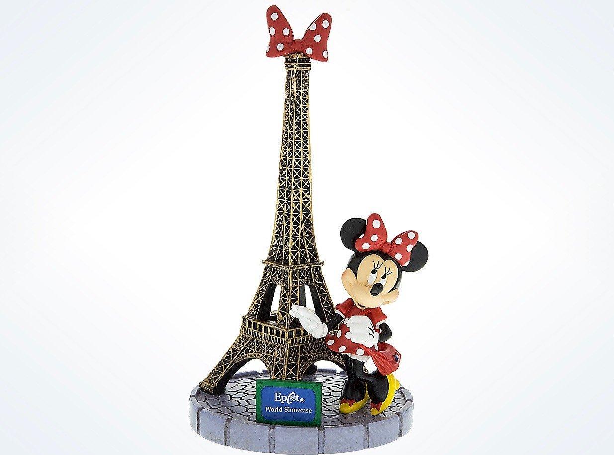 Disney Parks Epcot Paris Je T/'aime Mickey And Minnie Mouse Eiffel Tower Ornament