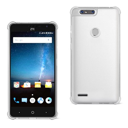 Reiko Zte ?? Sequoia Clear Bumper Case With Air Cushion Protection In Clear - image 1 of 1
