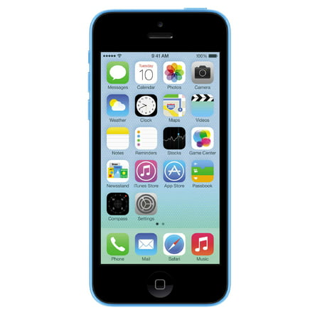 Apple iPhone 5C 16GB Factory Unlocked GSM Cell Phone - Blue