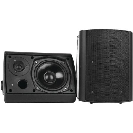 Pyle Home PDWR61BTWT 6.5″ Indoor/Outdoor Wall-Mount Bluetooth Speaker System