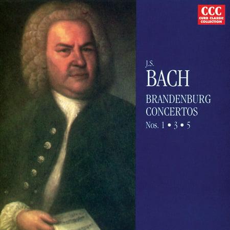 Bach Brandenburg Concerto No 3 (J.S. Bach - Bach: Brandenburg Concertos Nos. 1-3 [CD] )