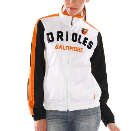 Baltimore Orioles Women's Sideline Track Jacket - White
