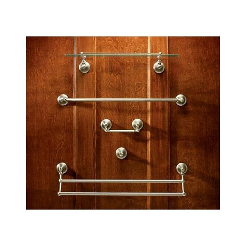 Moen Showhouse YB9422BB Savvy Bathroom Double Towel Bar Brushed Bronze by Moen
