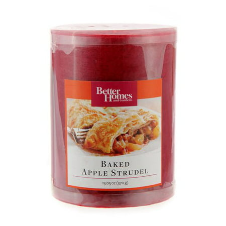 Better Homes And Gardens 4 Pillar Candle Red