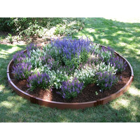 Frame It All 1 Inch Series Composite Circle Raised Garden Bed Kit 10 5ft