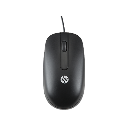 HP 3-Button 1000dpi Scroll Wheel USB Wired PC Computer Laser Mouse parts (Certified Refurbished)