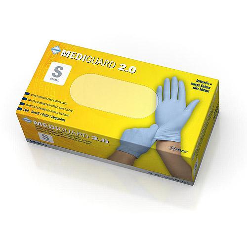 Medline MediGuard 2.0 Nitrile Exam Gloves