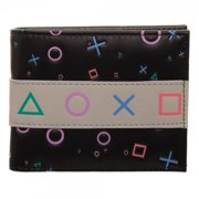 Wallet - Sony Playstation - Bi-Fold New mw5bi7spn