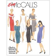 Mccall's Pattern Misses' Dresses, Fw (18