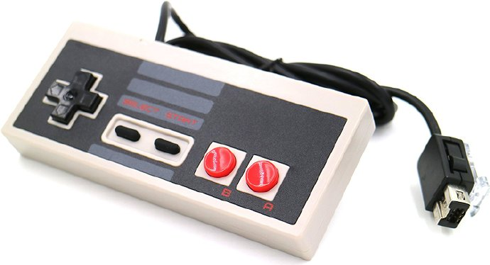Generic NES Classic Controller for Classic Edition, Wii and Wii U