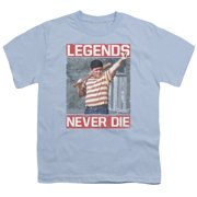 Sandlot Legends Big Boys Shirt Light Blue