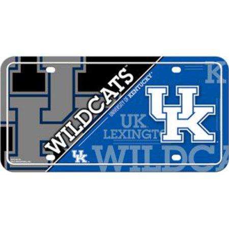 - Kentucky Wildcats Metal License Plate