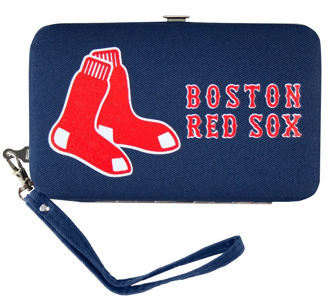 Boston Red Sox Official MLB Shell Wristlet by Little Earth 546823