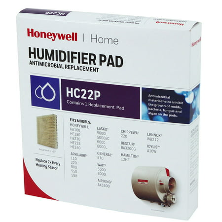 Honeywell HC22P HE220 Whole House Humidifier Pad (Honeywell Whole House Ventilation Control In Summer)
