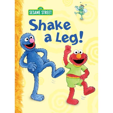 Shake a Leg! (Sesame Street) (Board Book) - Sesame Street Halloween Coloring Book