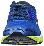Mizuno Running Men's Mizuno Wave Horizon Running-Shoes, Directoire Blue/Safety Yellow/Peacoat, 9.5 D US