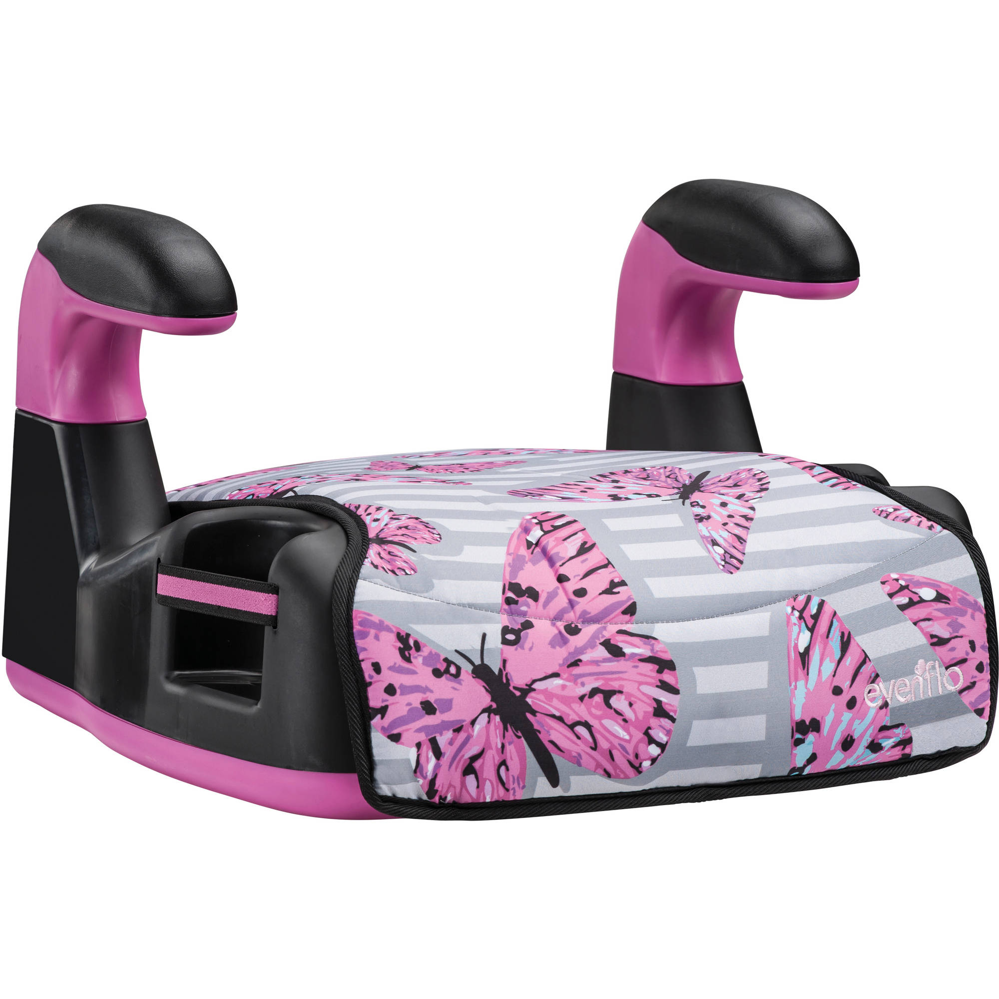 Evenflo AMP Select Backless Booster Car Seat, Butterfly