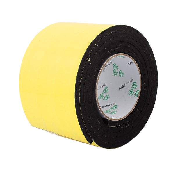100mm X 6mm Single Sided Self Adhesive Shockproof Sponge Foam Tape 2m Length Walmart Com Walmart Com