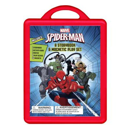Spider-Man: An Amazing Book and Magnetic Play Set : Book and Magnetic Play Set - Meaning Of Seeing A Spider On Halloween