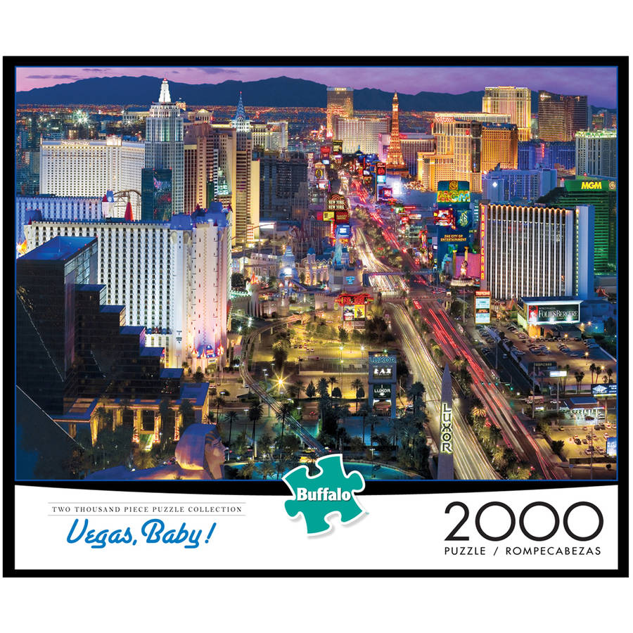 Vegas, Baby! Jigsaw Puzzle, 2000 Pieces