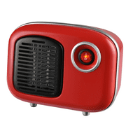 Soleil Personal Ceramic Mini Heater 250W Indoor Red MH-08R