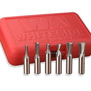 Whiteside Router Bits 605 Incra Set With 1/2-Inch Shank