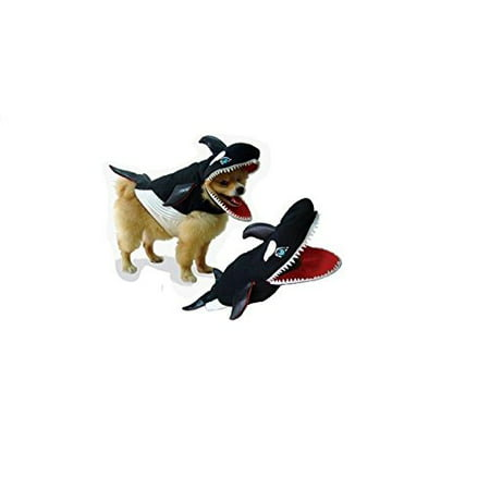 Killer Whale And Dog (Killer Whale Dog Costume Realistic Orca Foam Body Gills Big Teeth - Choose Size (Size)