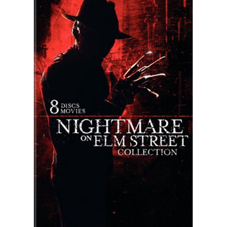 Nightmare On Elm Street Collection (8-Pack) (DVD) - Halloween Song Nightmare Christmas