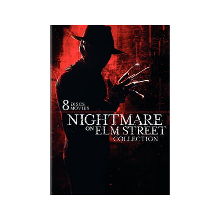 Nightmare On Elm Street Collection (8-Pack) (DVD) - Halloween Horror Movies On Netflix