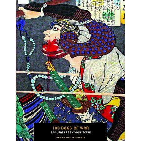 100 Dogs Of War  Samurai Art By Yoshitoshi