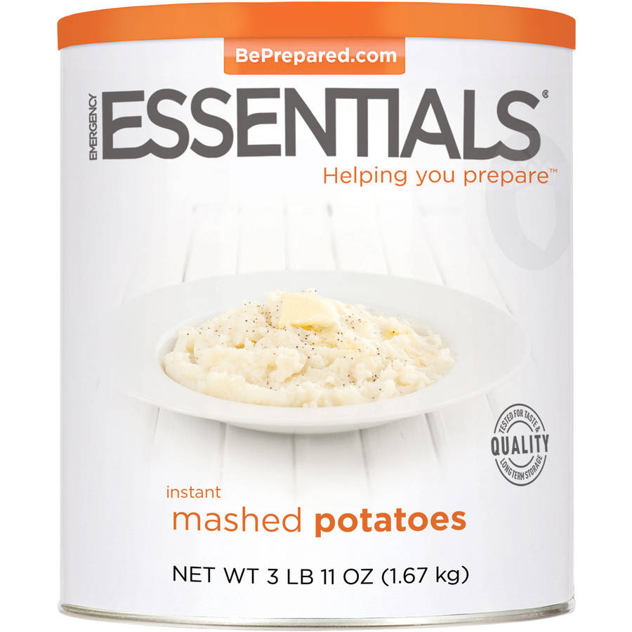 Emergency Essentials Instant Mashed Potatoes, 59 oz