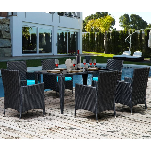 Clearance 7 Piece Outdoor Dining Sets