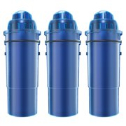 AQUACREST CRF-950Z Pitcher Water Filter Replacement for Pur CRF-950Z, Fits Pur Pitchers and Dispensers(Pack of 3)