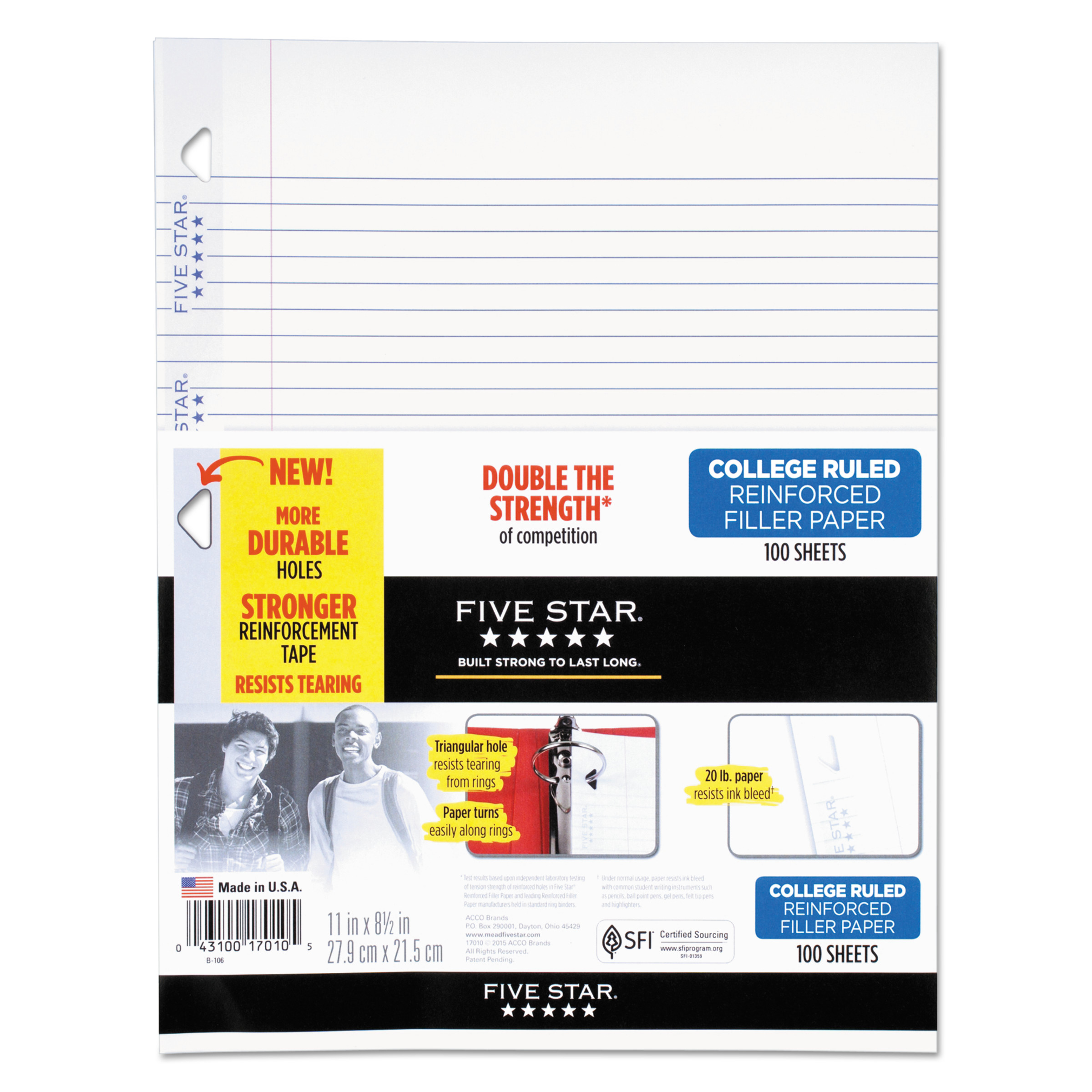 College Ruled Filler Paper – College Ruled Paper Template