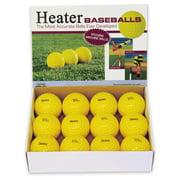Heater Sports Pitching Machine Baseballs - 1 Dozen