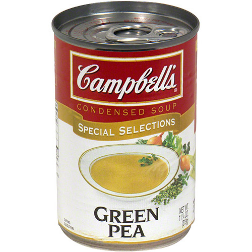 Campbell's Green Pea Condensed Soup, 11.25 oz (Pack of 12)