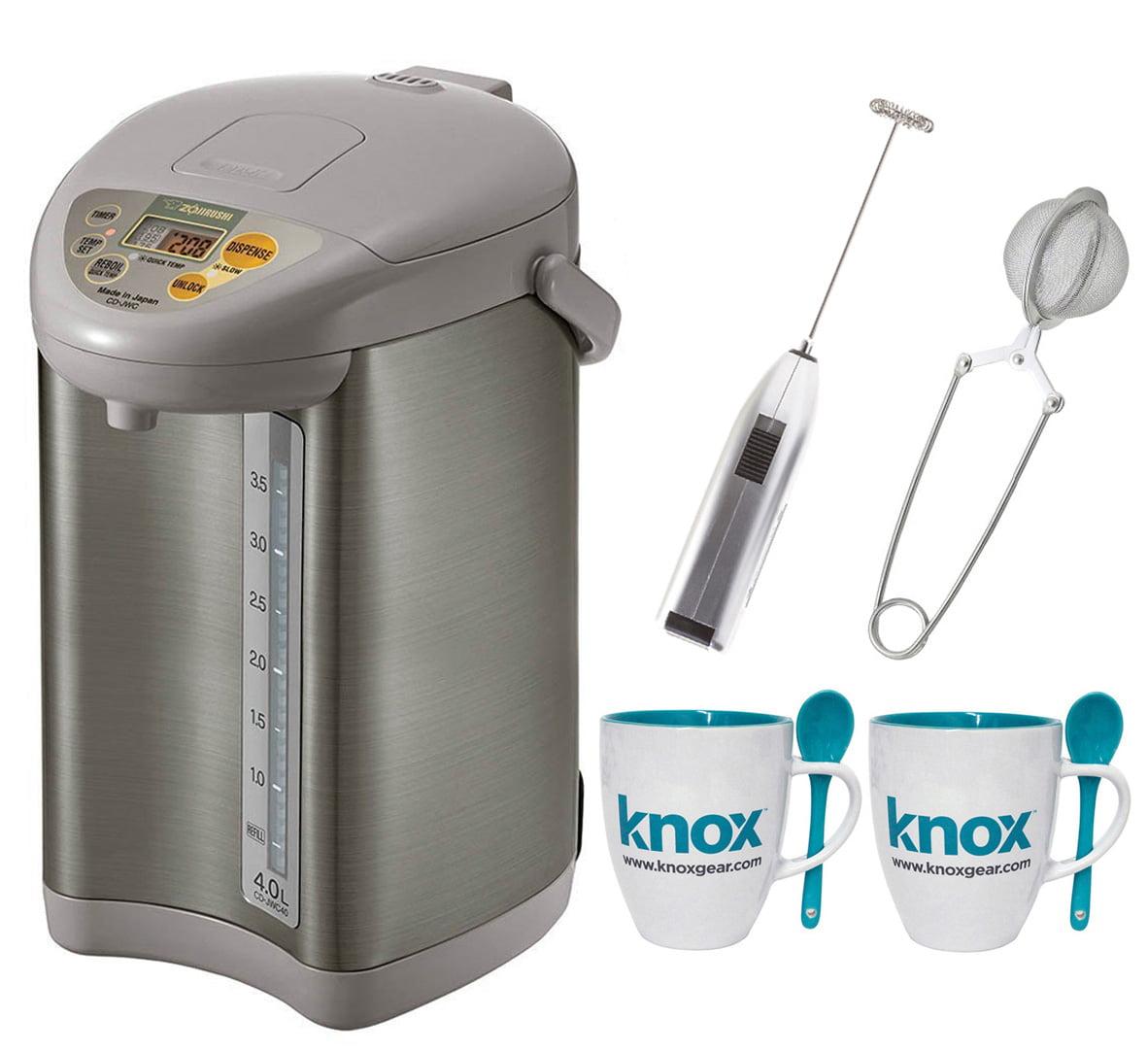 Zojirushi CD-JWC40 Micom Water Boiler & Warmer  + Knox Mu...