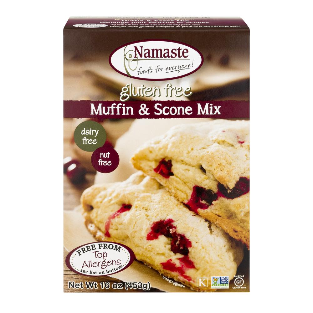 Namaste Gluten Free Muffin & Scone Mix, 16.0 OZ by Namaste Foods