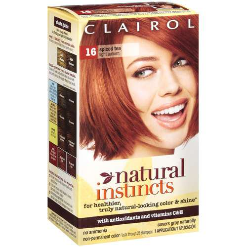 Clairol: Spiced Tea - Light Auburn Natural Instincts - Walmart.com