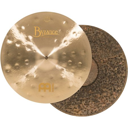 Meinl Byzance Jazz Thin - Meinl Byzance Jazz Thin Traditional Hi-Hat Cymbals Pair
