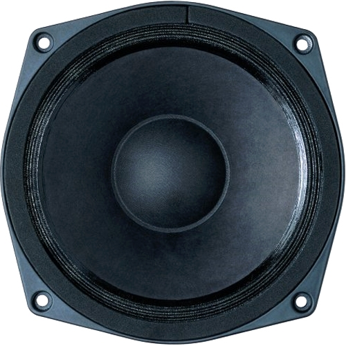 6.5-in Woofer w/8 Ohms Impedance & 240 Watts Continuous Power Handling Capacity & Ferrite Magnet