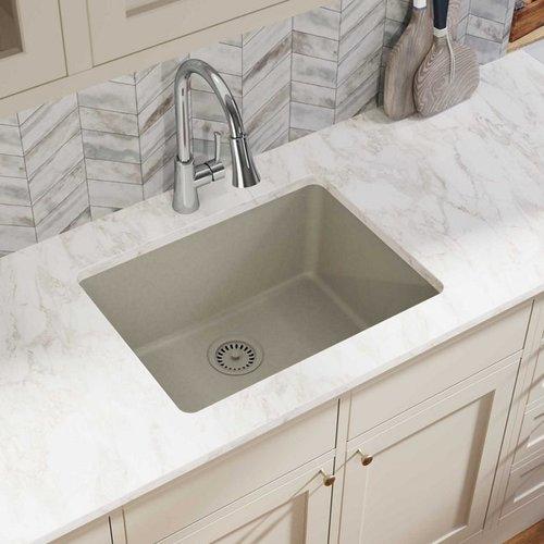 Elkay Quartz Classic 25 L X 19 W Undermount Kitchen Sink Walmart Com Walmart Com