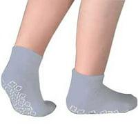Cardinal Health Single Tread Patient Safety Footwear Xl, Grey, Interior Terrycloth
