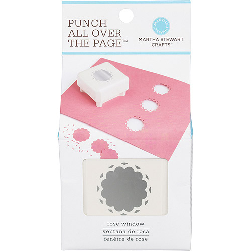 Martha Stewart Punch-All-Over-The-Page Punch, Rose Window